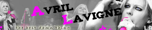 Avril Lavigne Banner by bellapester