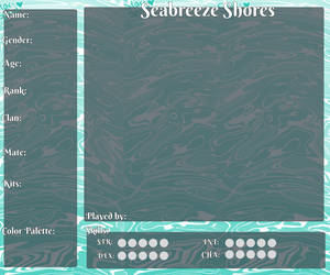 Seabreeze Shores Character Application by daydreamingdragon123