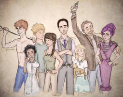 Happy Hunger Games by LikeATowtruck