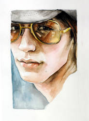 Ryo with Sunglasses by howvery--blue