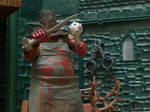 Resident Evil 5 - Executioner Majini figure by stopmotionOSkun