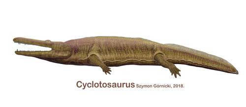 Cyclotosaurus by Szymoonio