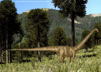 Walking with Dinosaurs Diplodocus reboot by Szymoonio