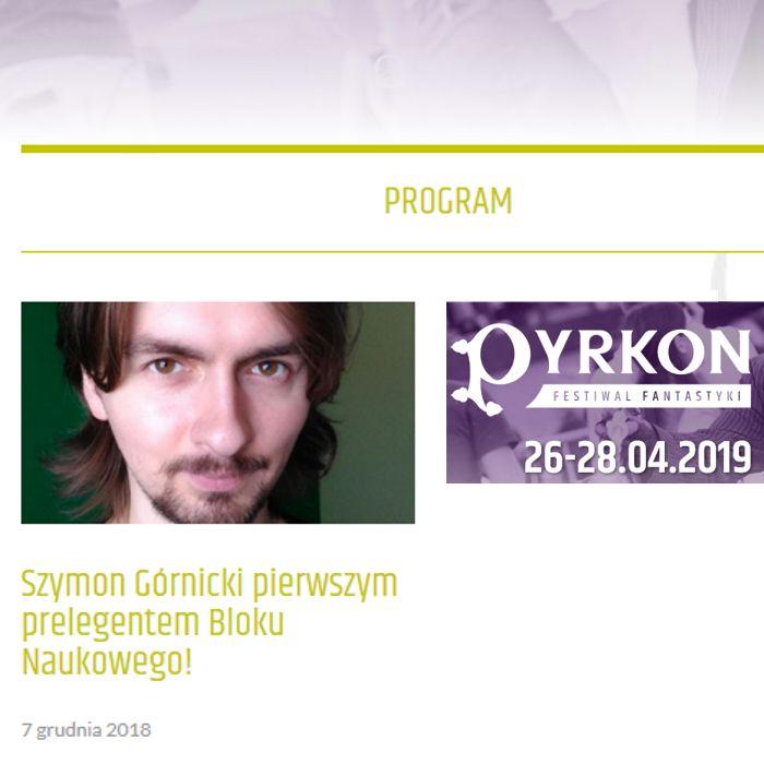 Pyrkon Gosc Info by Szymoonio
