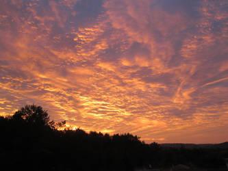 Ciel - coucher de soleil 1 by Mastuyama