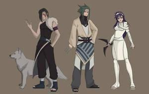 Naruto OC: Team Shiriasu by Barak85