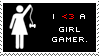 I heart a girl gamer stamp by Eisoptrophobic