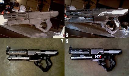 Commander Shepard Cosplay WIP2 by RebelATS