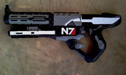 Commander Shepard Cosplay Gun by RebelATS