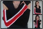 Shepard Long Armwarmers by RebelATS