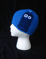 Doctor Who Tardis Police Box Beanie by RebelATS