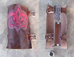 Assassin's Creed Wild West Bracer and Hidden Blade by RebelATS