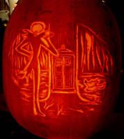 What's This Jack and Tardis Pumpkin Carving by RebelATS