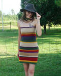 4th Doctor's Scarf Short Dress by RebelATS