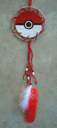 Pokeball Dream Catcher by RebelATS