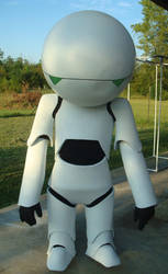 Hitchhikers Marvin the Robot by RebelATS