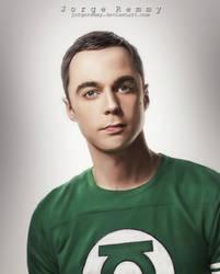 Jim Parsons(Sheldon Cooper) by jorgeremmy