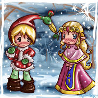 Mistletoe'd --Zelda by hylianmage