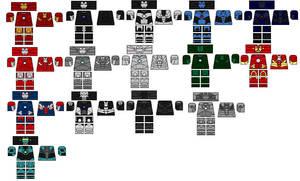 iron man armour decals by darkone300