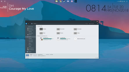 Ambio desktop-Screen Shot Submition by treypop