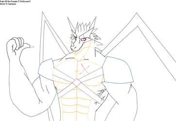 Ryujiru for WarGreymon43 by Taneizaereus