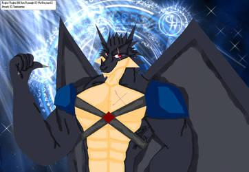 Ryujiru For WarGreymon43 - CG by Taneizaereus