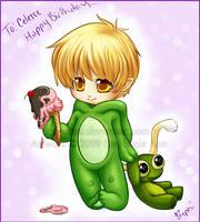 -Frog Birthday- by kayikoni