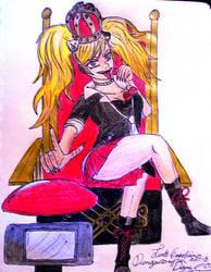 The Queen of Despair by bayonettafan001