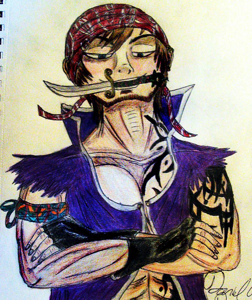 Male Purple Pirate by bayonettafan001