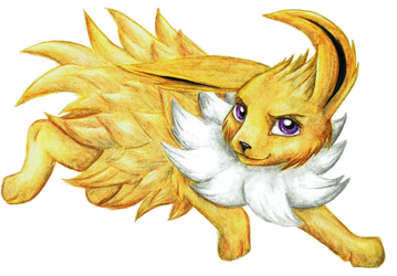 Pokemon - Jolteon by KasiaPOL