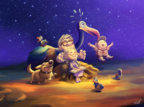 Disney Pixar UP - Dream Together by miacat7