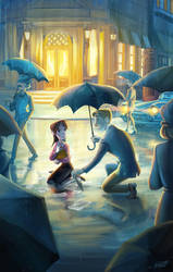 Rain by miacat7