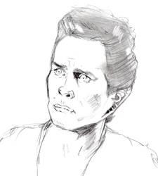 Weyoun Sketch by ColubridCola