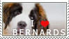 St. Bernard Stamp by chinarose93