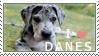 Great Dane Stamp by chinarose93