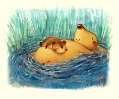 Sleep on the water by Adelaida