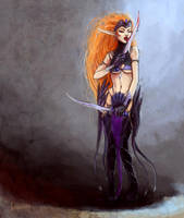 Blood Fury by Adelaida