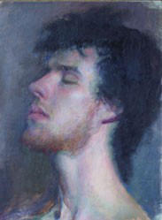 Classical Oil Painting of Dan by MFS8000SP03