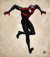 Miles Morales - Ultimate Spider-man by BungZ