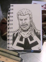 Bishop - X-Men by BungZ