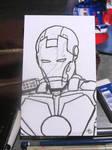 Iron Man Sketch by BungZ