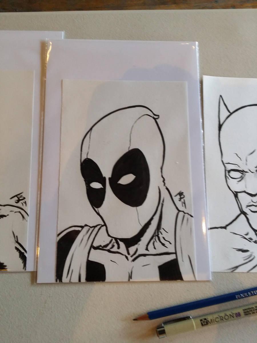 Deadpool Sketch by BungZ