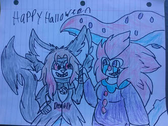 Happy Halloween! by megakyurem4188