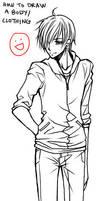 Anime Tutorial: Body-Clothing -BOY- by ember-snow
