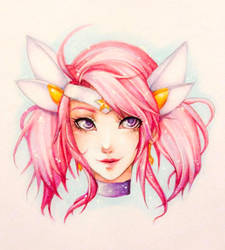 Star Guardian Lux by ember-snow
