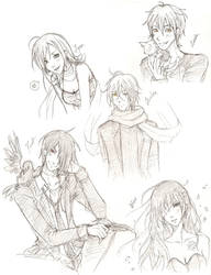 Original Character Sketches by ember-snow