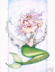 GIFTART: Mermaid for Shavonne by ember-snow