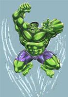 Hulk sketch by Szigeti