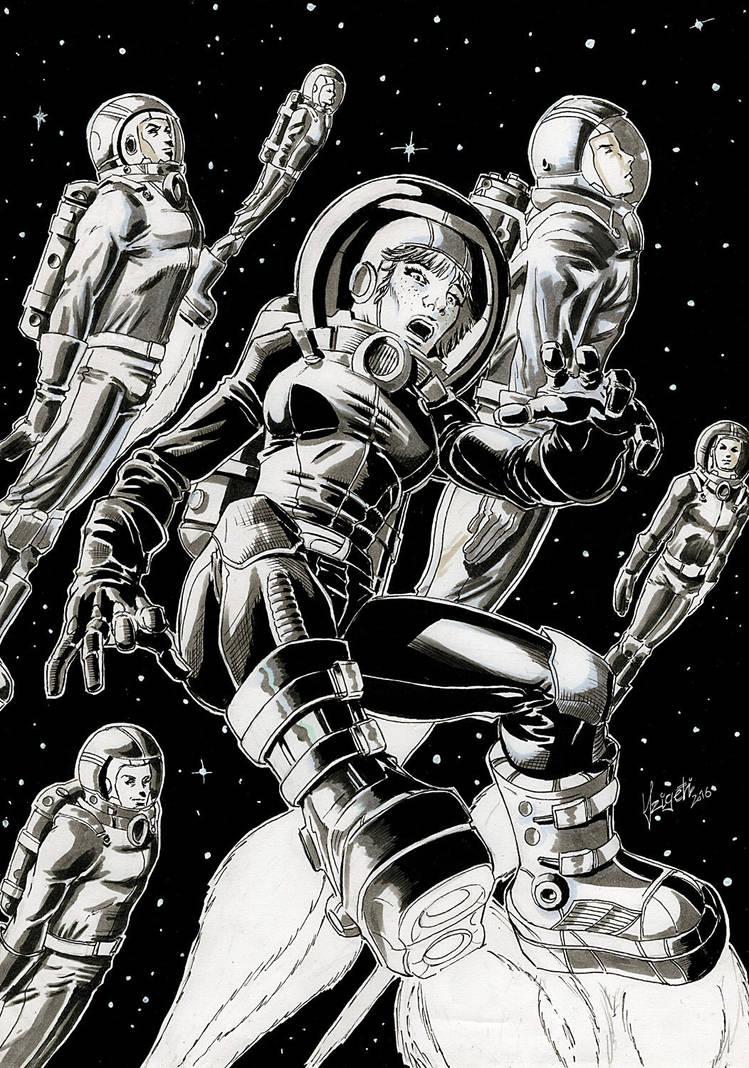 Tina Corbett - Space Cadet by Szigeti