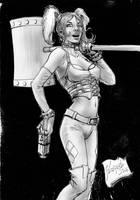 Harley sketch by Szigeti